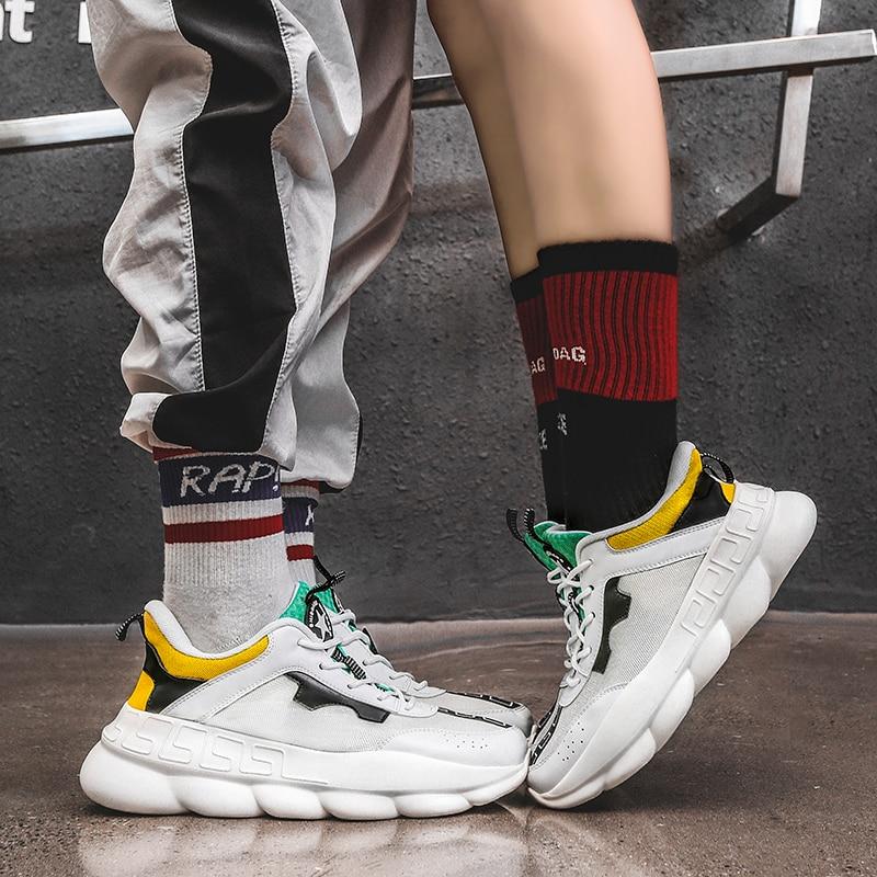Comprar ahora. ADBOOV New Fall Winter Platform Sneakers Women Height  Increasing 7 cm Chunky Shoes Woman Plus Size 35-42 ... d08b8c9a6317