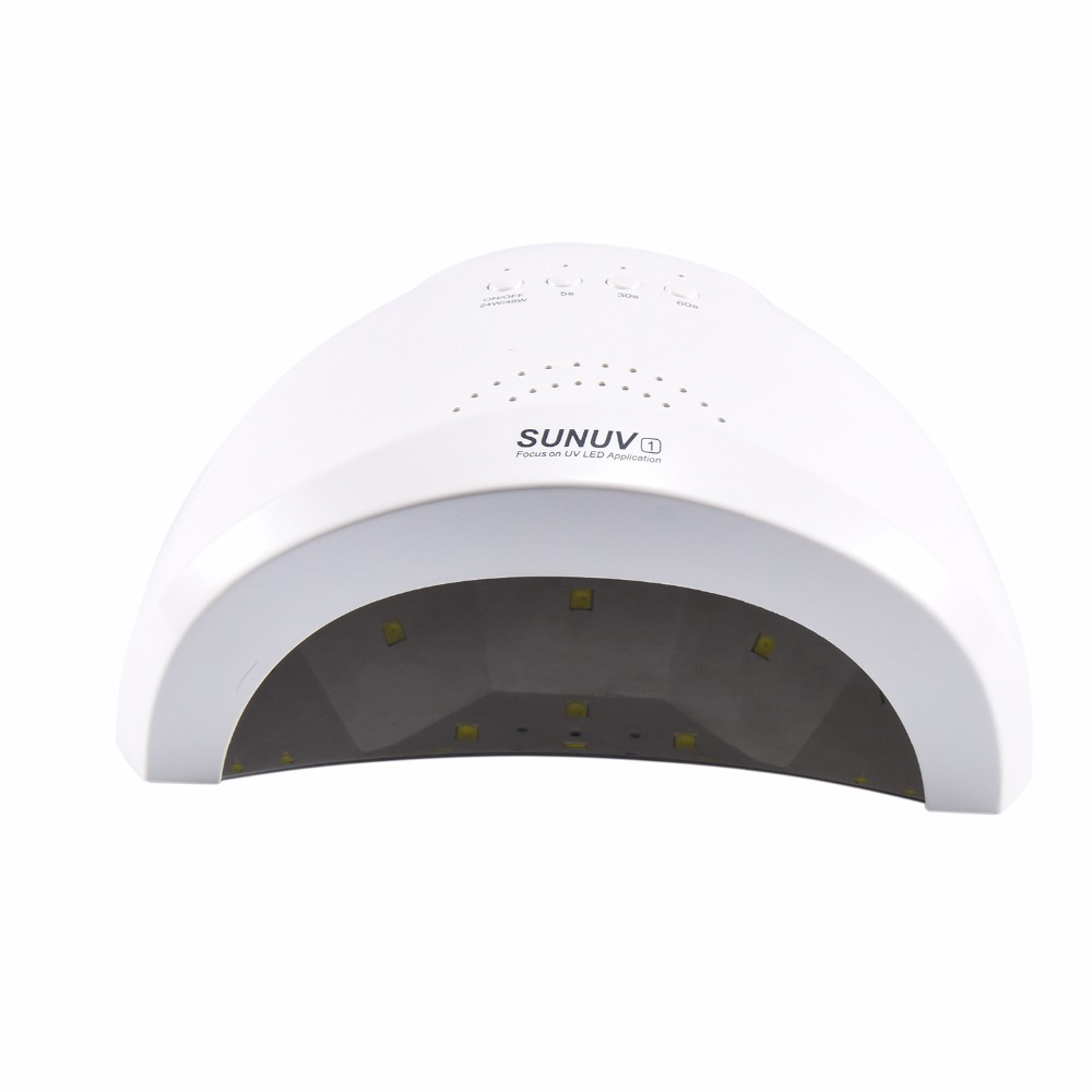 SUNUV Sunone Professional White Light 48W UV LED Lamp UV Nail ...