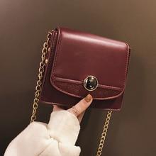27770029224d8c Glänzend nähen Kleine Umhängetaschen 2019 Gute Qualität Leder Handtaschen  Für Frauen Mädchen Schulter Tasche kette Hand