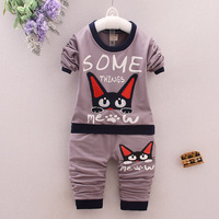 Spring Kids Clothing Sets Children S Wear Cotton Casual Tracksuits Baby Boys Clothes Sports 2 Pieces