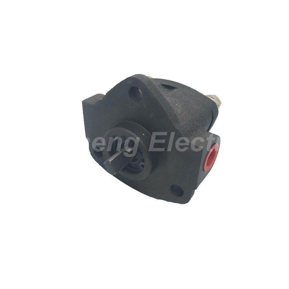 Pompe à huile à engrenages auto-lubrifiant insert type cycloïde avec un petit flux de pompes à engrenages basse pression pas cher chine en gros