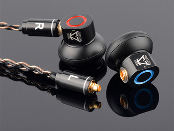 Musicmaker TONEKING TO400s 400ohm HiFi Music Studio Monitor Flat Head Audiophile MMCX Detachable Cable Metal Earbud Earphones