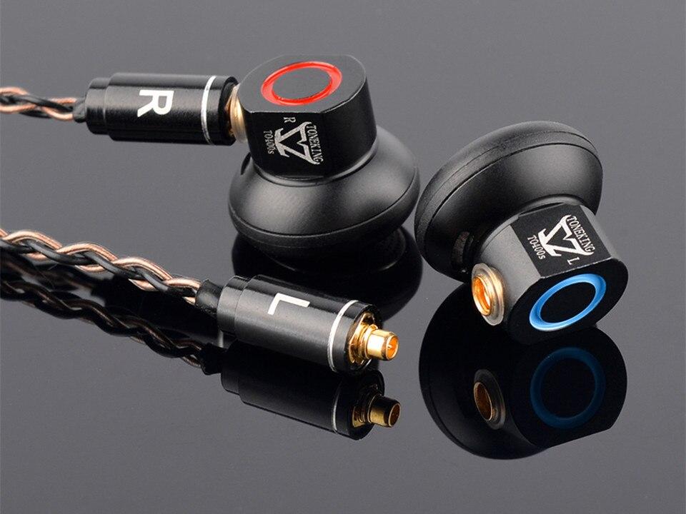Musicmaker toneking to400s 400ohm HiFi музыка Studio Мониторы плоской головкой Audiophile MMCX съемный кабель металлические вкладыши Наушники
