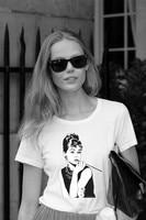 New Arrival Breakfast At Tiffany S T Shirt Classic Audrey Hepburn Printed Women Fashion T Shirt