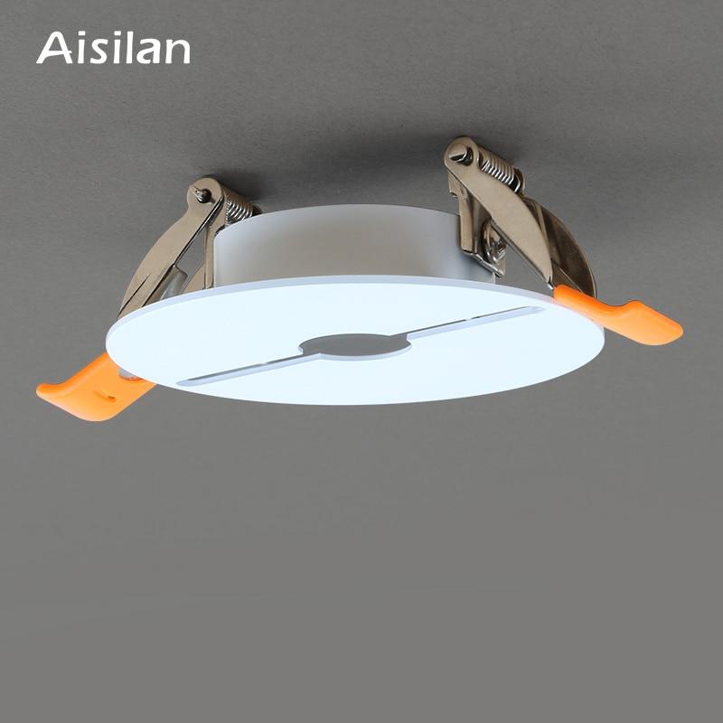 Işıklar ve Aydınlatma'ten Taşınabilir Aydınlatma Aksesuarları'de Aisilan tavana monte Downlight alçıpan delik dolum cihazı title=