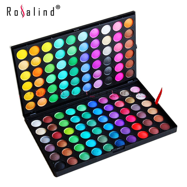 Rosalind Eyes Makeup 120 Color Eye Shadow Cosmetics Mineral Make Up Beauty Makeup Eye Shadow Palette Kit  E120#2