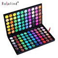Rosalind Ojos Maquillaje 120 Colores de Sombra de Ojos Cosméticos Mineral Make Up Maquillaje Eye Shadow Palette Kit E120 #2