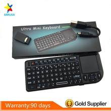 NEW Mini 2.4G Wireless Keyboard Touchpad Backlight For Smart TV Samsung LG Panasonic Toshiba(China)
