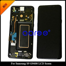 "Super AMOLED For 5.8"" Samsung Galaxy S9 LCD S9 Plus Display Touch Screen Digitizer Assembly For 6.2"" Samsung S9 Plus G9650 lcd(China)"