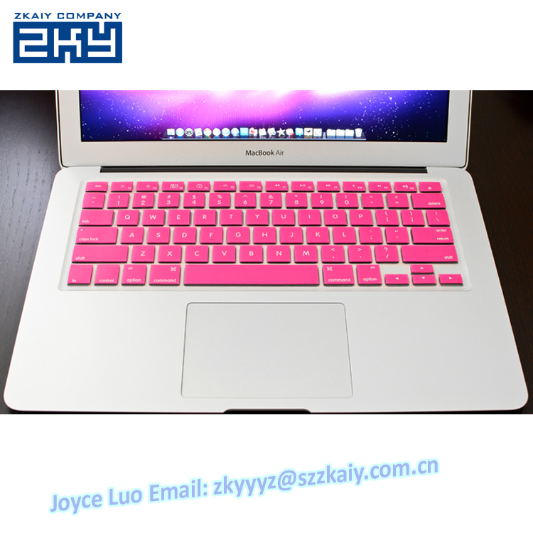 low priced df075 e73ea US $7.05 |ZKY 0069 For Macbook Custom silicone keyboard cover skin  protector Keyboard Protector for MacBook Air 13