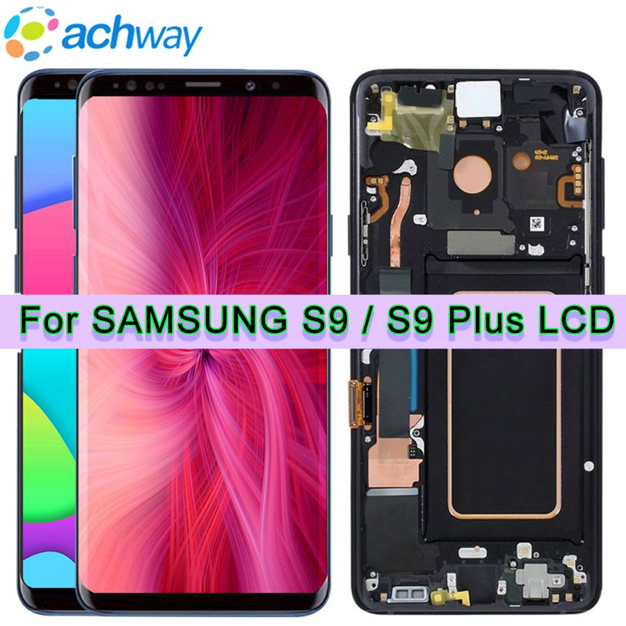 For 5 8 Samsung Galaxy S9 LCD S9 Plus Display Touch Screen Digitizer Assembly For 6
