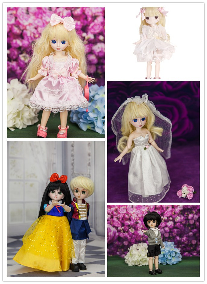 1/6 blyth Free shipping 11'' 29cm cute BJD joints doll toys ABS DIY girl dolls toy set birthday gift цена