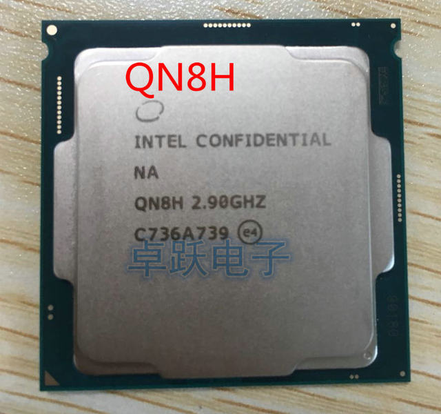 QN8H ES CPU INTEL I7 Engineering version of intel core I7 8700 Six core 2.9  graphics