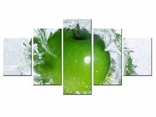 5 Pieces Factory Fruit Poster Series poster Art Print Wall Picture Canvas Painting Framed Home Decor/still life-25