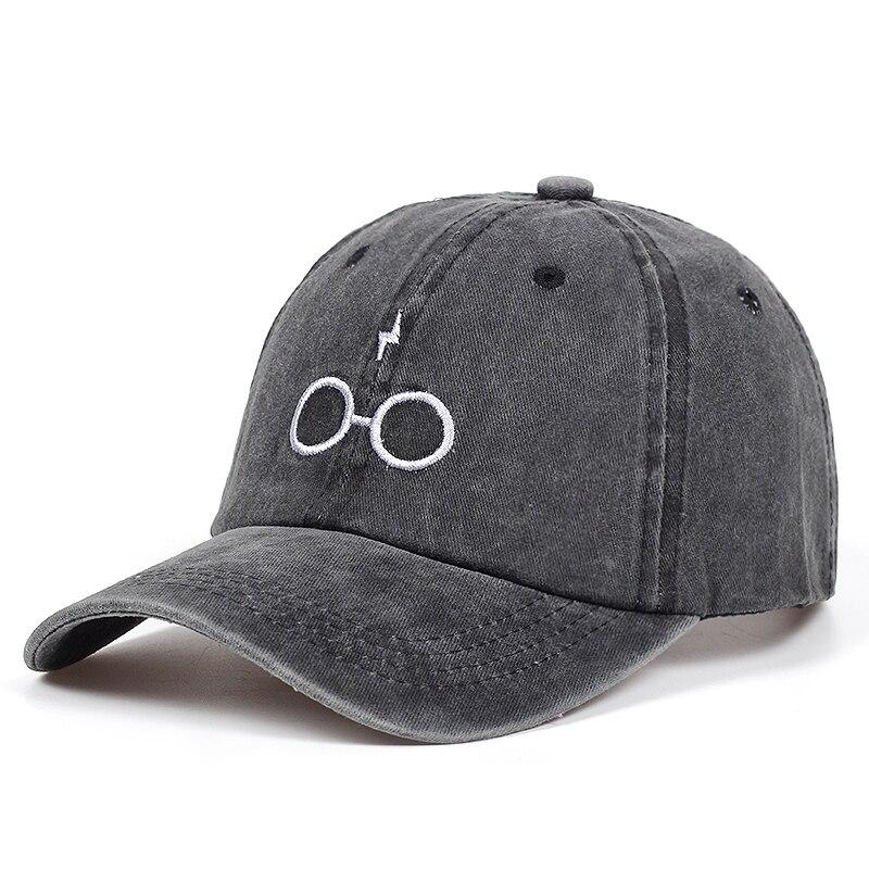 2018 new design dad hats women men glasses baseball cap high quality unisex fashion dad hats new lightning sports hats 2