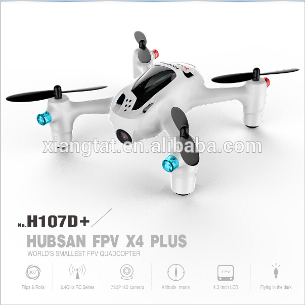 Hubsan FPV X4 Plus H107D With 2MP Wide Angle HD Camera Altitude Hold Mode RC Quadcopter