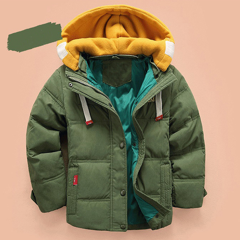 HH Kids jacket boys Hooded Winter baby girl autumn jacket toddler coat children snowsuit Velvet Jacket Outwear 3 4 5 8 10 Years Islamabad