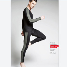 New SUPERBODYmen's long johns thermal underwear cotton lsgging fashion long johns set 3 colors M L XL XXL