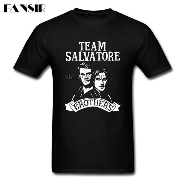 damon salvatore the vampire diaries stefan salvatore men t shirt