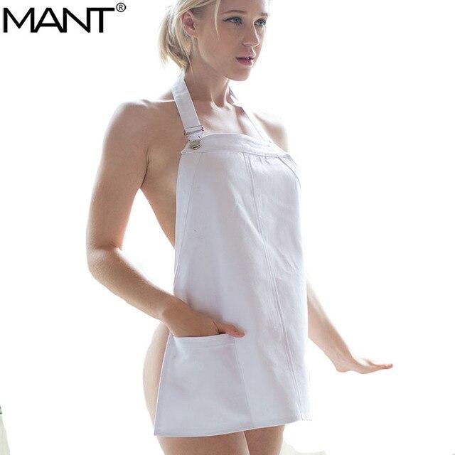Mujeres Sexy cocina salón de la magdalena Jeans negro blanco ...