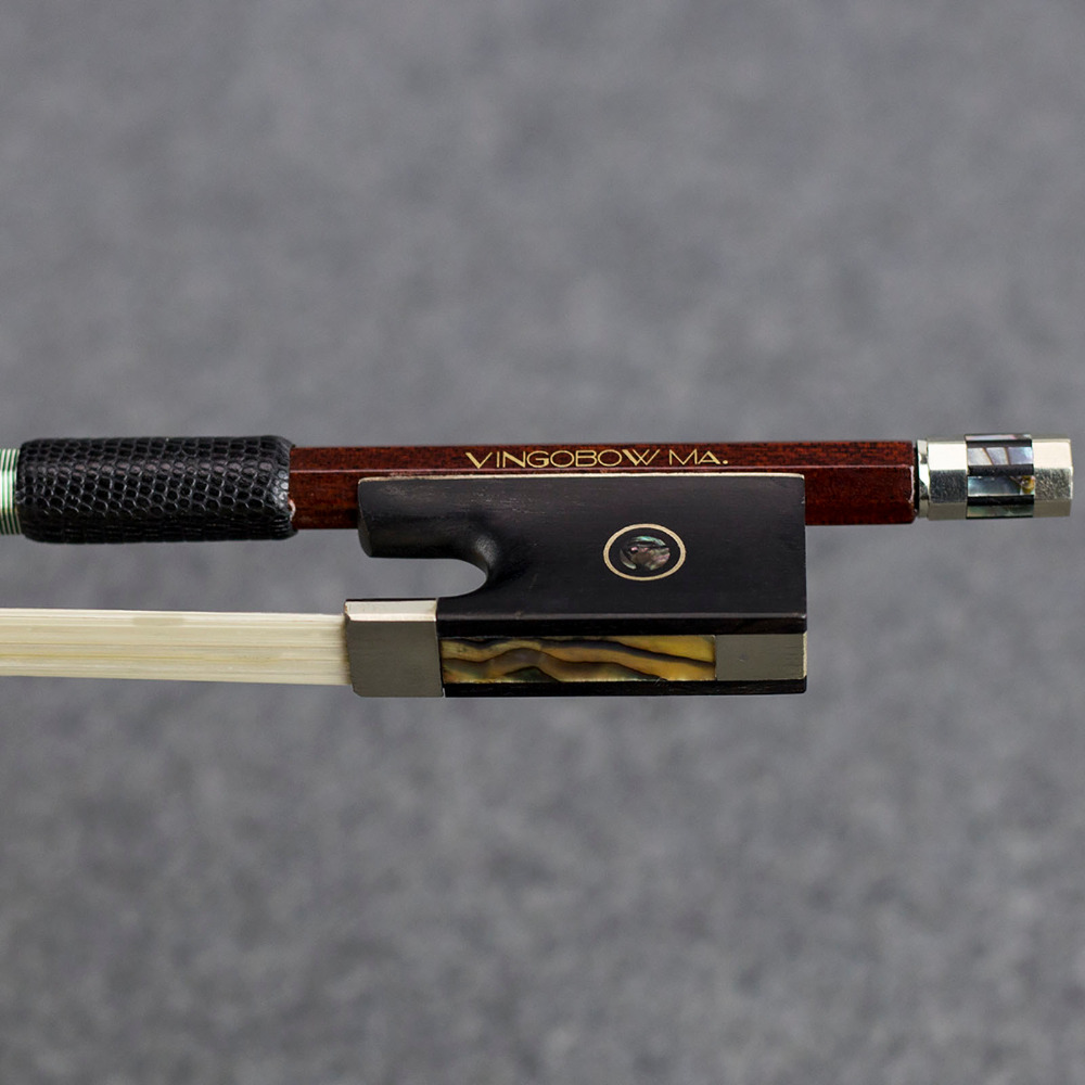 4/4 Veličina 120V VIOLIN BOW Jezgra od ugljičnih vlakana Pernambuco - Glazbeni instrumenti - Foto 3