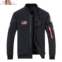 High Quality Pilot Bomber Jacket Men Bomber Air Force Flight Pilot Jackets Windbreaker Flight Bomber Jacket