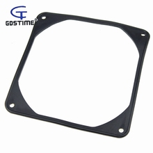 50pcs/lot Gdstime Computer Case Fan Shock Absorption Silicone Pad Anti Vibration Gasket 120mm 12cm