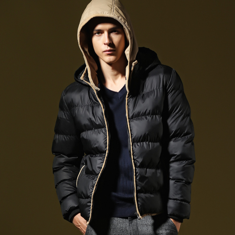 2016 New Arrival Men's Down Coat High Quality Fashion Padded Cap ...