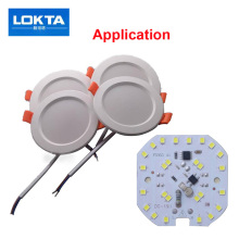 30pcs/lot Led Chip SMD 7W 9W No Need Driver Integrated IC AC 180V-240V For DIY light downlilght ceiling