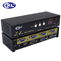 CKL 224R VGA Switch with Audio 2 in 4 out. 2048*1536 450MHz for PC Monitor with IR Remote,RS232 Control