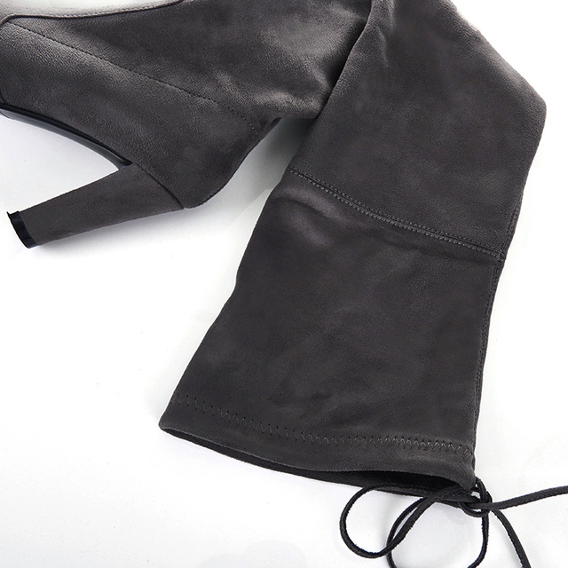 Thigh High Suede  Boots  4