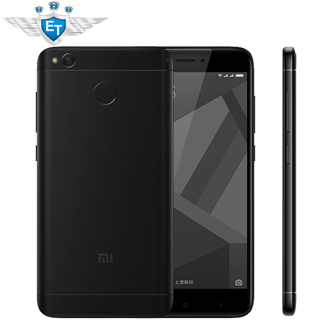 "Original Xiaomi Redmi 4X Cell Phones 5.0"" 2.5D Screen Snapdragon 435 Octa Core 2GB RAM 16GB ROM 4100mAh 13MP Fingerprint"