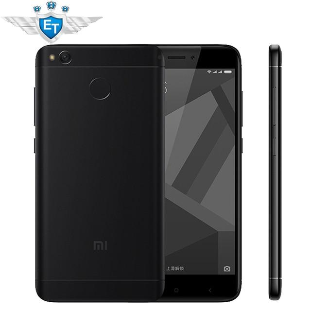 """Original Xiaomi Redmi 4X Cell Phones 5.0"""" 2.5D Screen Snapdragon 435 Octa Core 2GB RAM 16GB ROM 4100mAh 13MP Fingerprint"""