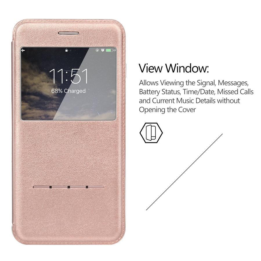 Untuk Iphone 7 8 Case Touch Series View Jendela Folio Flip Pu Tas Pria D 300 Bmw Merah Biru Laptop Bly 394 Kulit Magnetik Yang Unik Apple Baru