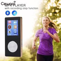 with Bluetooth MP4 Music Player Support SD Card FM Radio Pedometer Portable