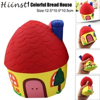 HIINST Squishy Colorful Bread House Phone Straps Slow Rising Bun Charms Gifts Toys OCT17