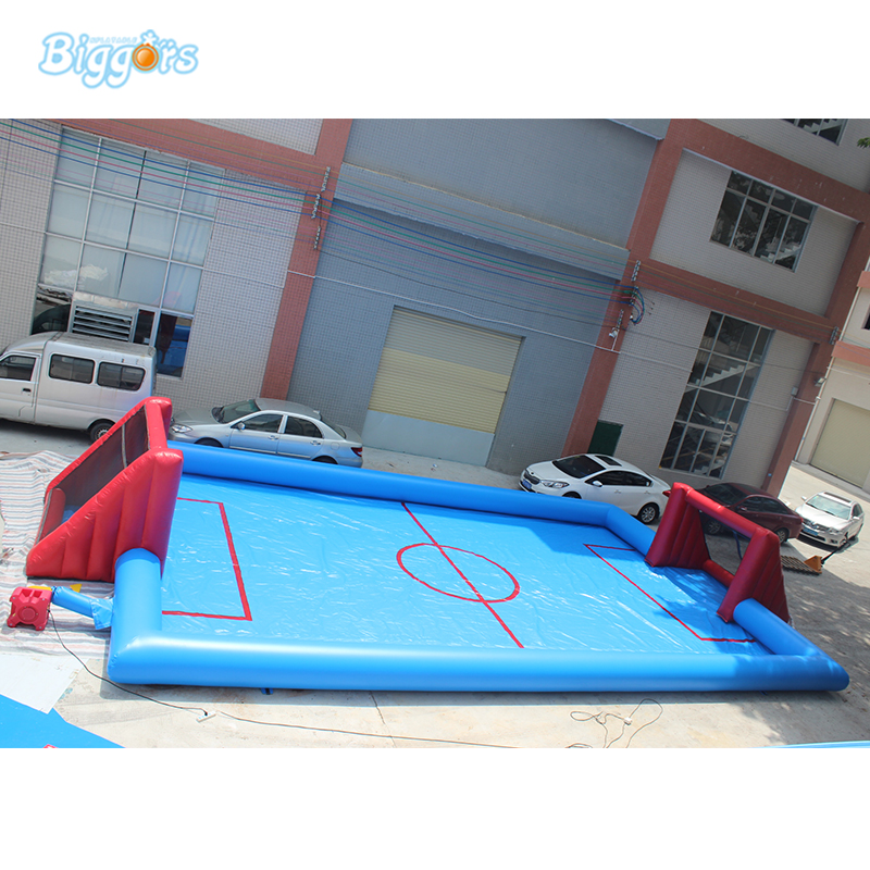 все цены на PVC Commercial Grade Inflatable Soap Water Soccer Football Field for Sport Game