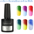 Gelexus Temperature Color Changing UV Nail Gel Polish Long Lasting 8ml UV Gel Chameleon Nail Varnish Total 60 Colors