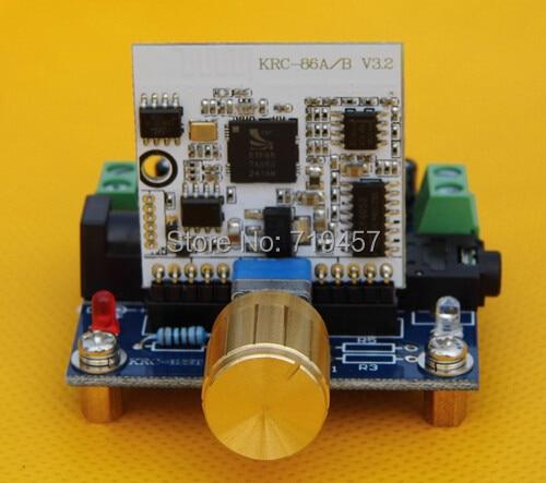 FREE SHIPPING KRC-12ST-7377BTA DIY Modified Car Home Movie Sound Speakers Bluetooth Module Power Amplifier Board