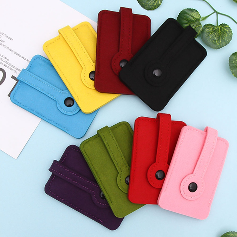 2018 Hot Car Key Wallet Purse Men Women Woolen Felt Keychain Holder Pocket Keys Organizer Pouch Case Bag