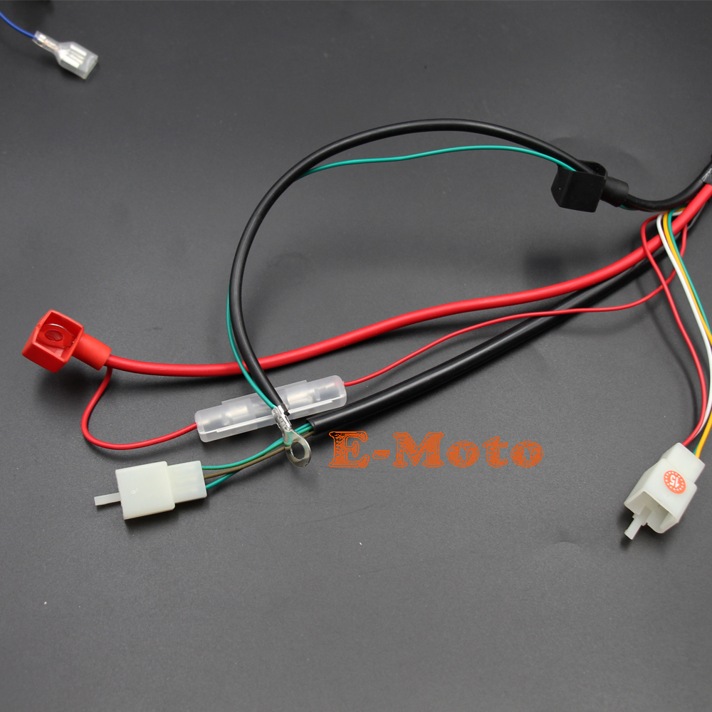 brand new start motor complete electrics kit for 150cc 200cc 250cc 4 stroke chinese electric start quads [ 1000 x 1000 Pixel ]