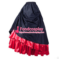 Victorian Rococo Medieval Gown Ball Skirt Gothic Evening Dress Cosplay Costume Tailor made[G832]