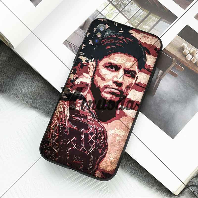 Yinuoda рэп-звезда Рэппер Эминем Канье Уэст UFC чехол для телефона Apple iPhone 8 7 6 6 S Plus X XS MAX 5 5S SE XR сотовые телефоны