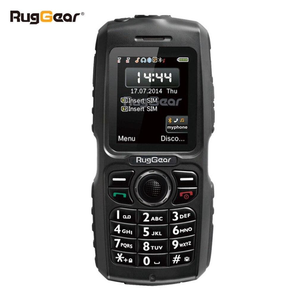 Водонепроницаемый телефон прочный сотовый телефон RugGear RG100 разблокирована Военная сотовом телефоне