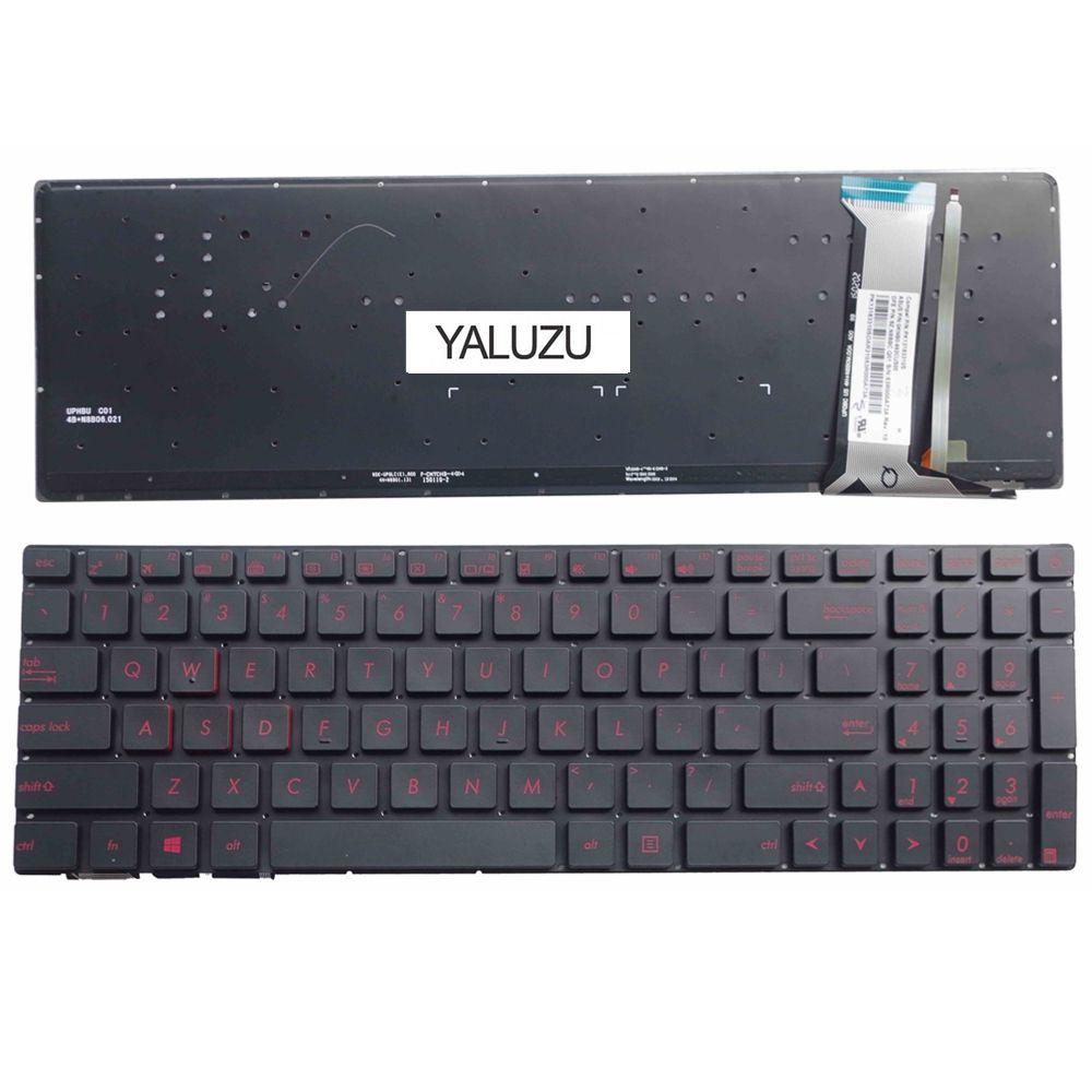 YALUZU US FOR ASUS N551 N551J N551JB N551JK N551JM N551JQ Replace English laptop keyboard backlit BlackYALUZU US FOR ASUS N551 N551J N551JB N551JK N551JM N551JQ Replace English laptop keyboard backlit Black