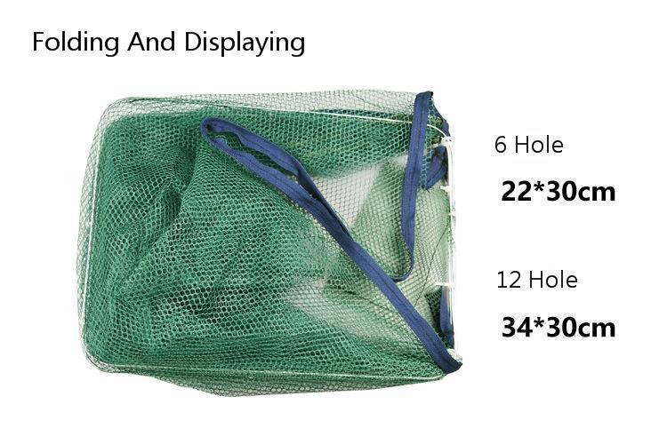 6 16 buraco dobrado rede de pesca