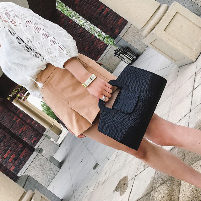 Fashion women's envelope clutch bag With Small Wallet High quality Shoulder Bags for women large Ladies Clutches 1