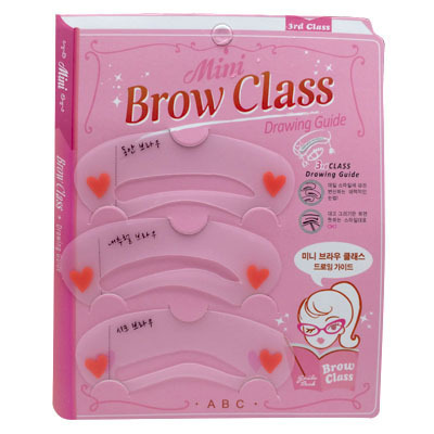 Wholesale Excellent 10000packs (30000pcs) Fashion Reusable Eyebrow Drawing Guide 3 Styles Eyebrow Stencil Template Shaping Card 1