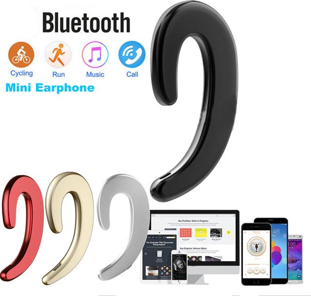 kebidu Wireless Bluetooth 4.2 Headphones Bone Conduction earphone Sports Headset Stereo for iphone 7 8 X Samsung Tablet XIAOMI