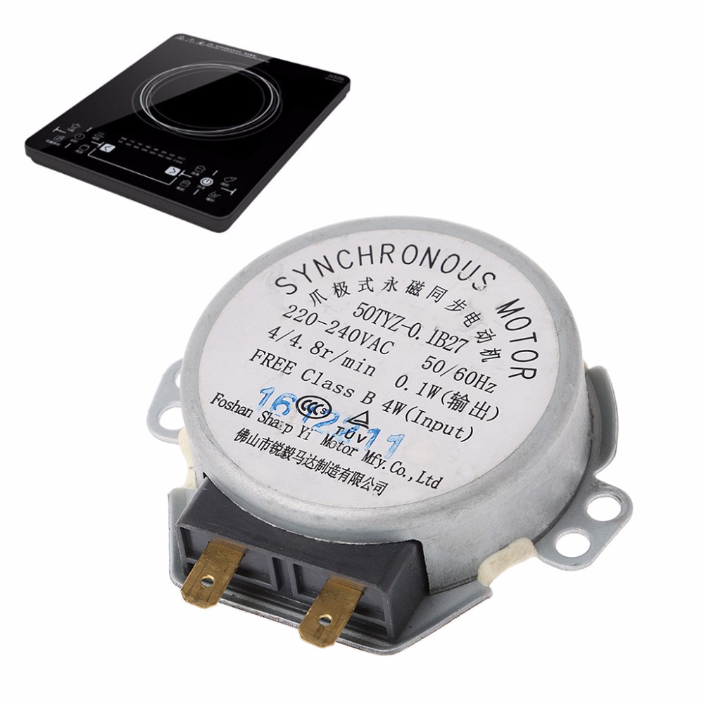 220-240V Microwave Oven Tray Synchronous Motor For Microwave Oven Engine Parts